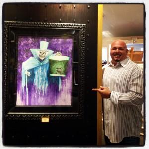 "Disney Master Artist Kevin-John's ""Hat Box Ghost"""