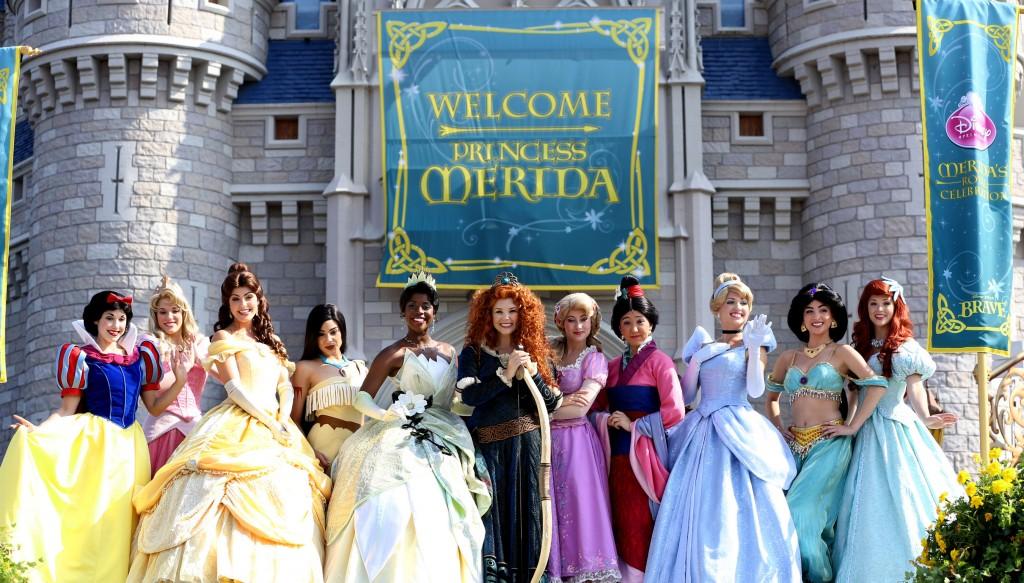 The Disney Princess Royal Court