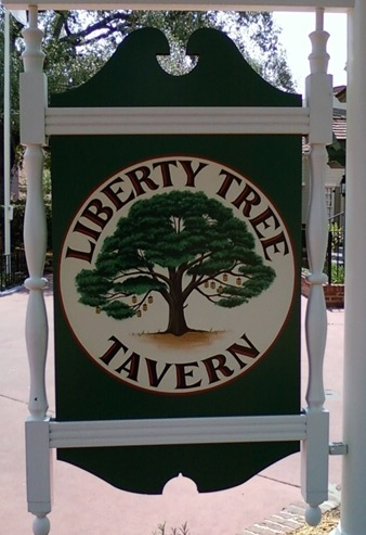 Taking A Bite Out of Disney-Liberty Tree Tavern