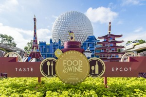 """Guests can sample tapas-sized tastes of inventive cuisine from more than 30 global marketplaces during the Epcot International Food & Wine Festival Sept. 25-Nov. 16, 2015 at Walt Disney World Resort in Lake Buena Vista, Fla. The popular fall festival also features wine tastings, culinary demonstrations, mixology seminars, nightly """"Eat to the Beat"""" concerts and a broad range of premium dining events. For the first time in the festival's 20-year-history, global marketplace experiences, expand from the park's World Showcase into Future World. (Matt Stroshane, photographer)"""
