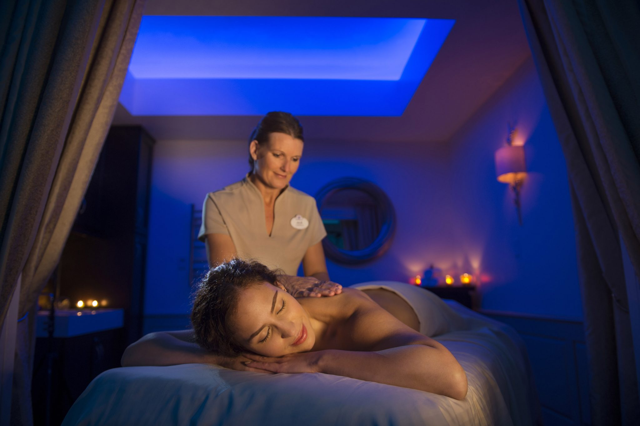 Therapists will balance wellness with the ultimate in pampering at Senses, a Disney Spa at DisneyÕs Grand Floridian Resort. All the senses are engaged in a relaxing environment sure to revive and renew from head to toe. The full-service Disney owned and operated spa offers a menu of services from warm stone massage and mint hydrating body treatment to coconut facials and princess pedicures for youngsters. The spa is set to open Dec. 17 at Walt Disney World Resort in Lake Buena Vista, Fla. (Kent Phillips, photographer)