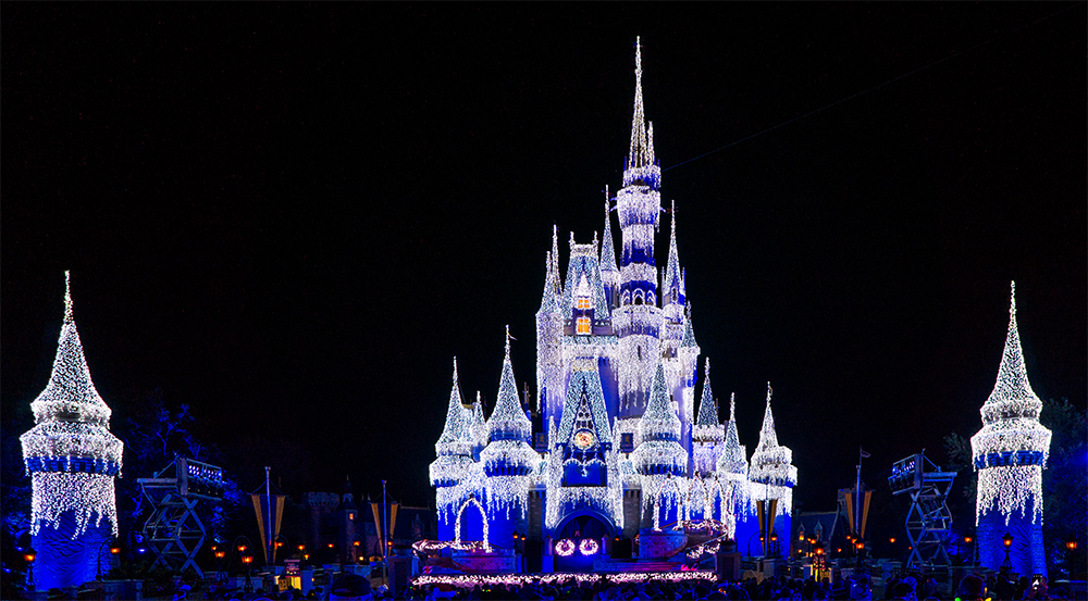 Cinderella Castle for the Holidays