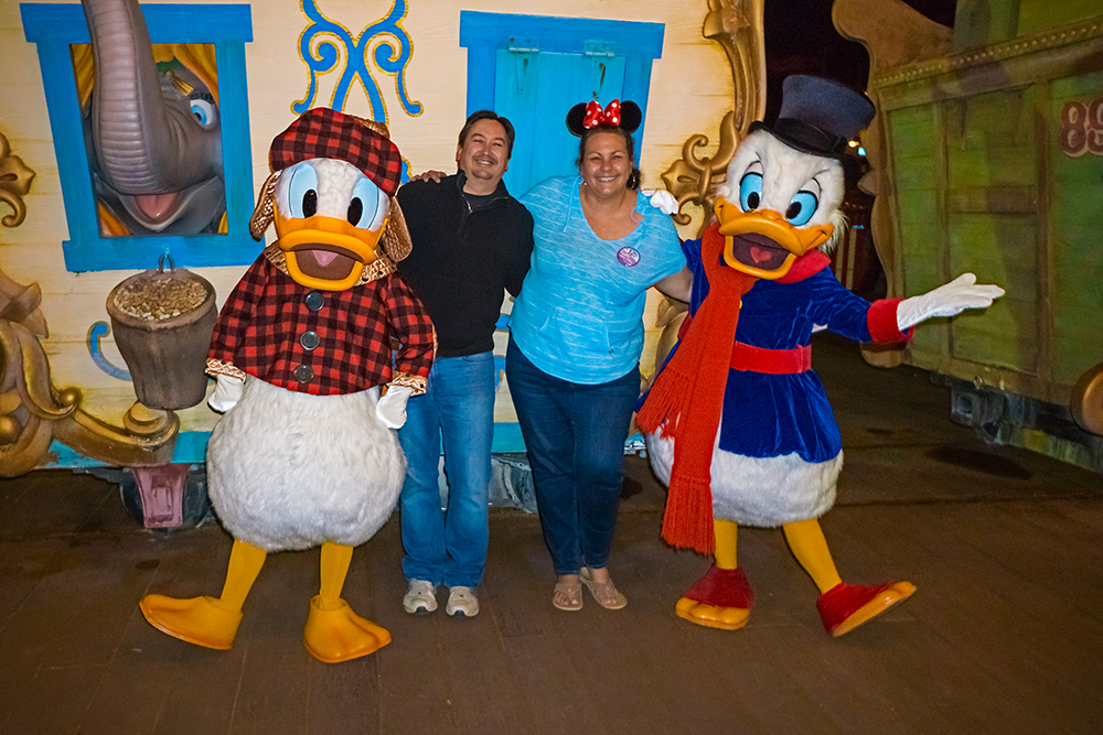 Donald and Scrooge McDuck Meet and Greet at MVMCP