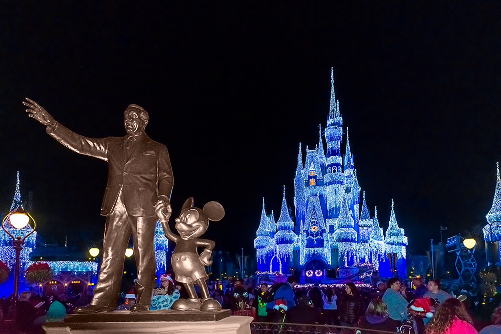The Partners Statue during MVMCP