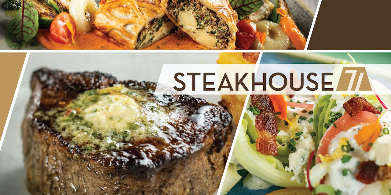 Steakhouse 71 and the New Refurbed Rooms! [Ep. 814]